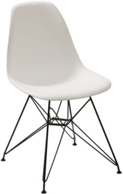 Modus Furniture Rostock White Side Chair