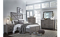 Modus Furniture Austin 4-Piece Queen Bedroom Set