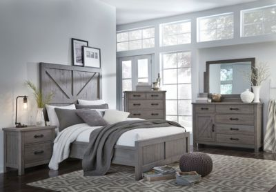 Modus Furniture Austin 4-Piece King Bedroom Set