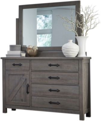Modus Furniture Austin Dresser With Mirror