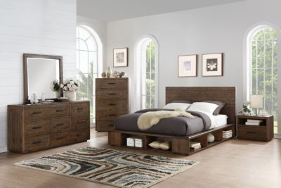 Modus Furniture McKinney Queen Storage Bedroom Set