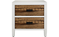 Modus Furniture Montana White Nightstand