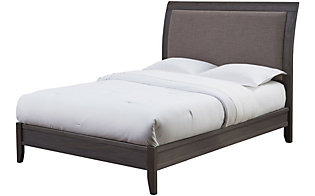 Modus Furniture City II Gray Queen Bed