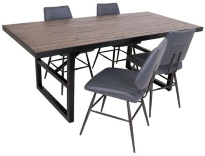 Modus Furniture Drift 5-Piece Dining Set