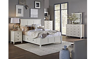 Modus Furniture Paragon White Storage Queen Bedroom Set