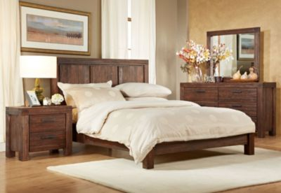 Modus Furniture Meadow Brown Queen Bedroom Set