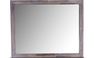 Modus Furniture Herringbone Mirror