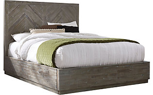 Modus Furniture Herringbone King Bed