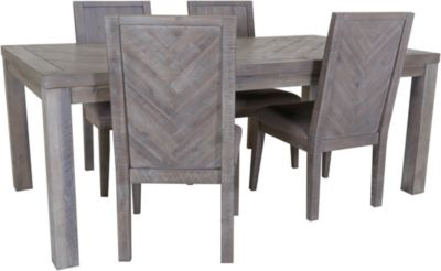 Modus Furniture Alexandra Table with 4 Side Chairs