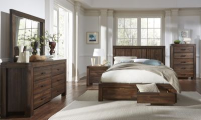 Modus Furniture Meadow King Bedroom Set