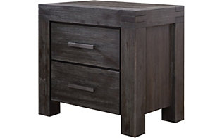 Modus Furniture Meadow Graphite Nightstand
