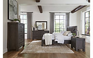 Modus Furniture Meadow Graphite Queen Bedroom Set