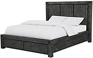 Modus Furniture Meadow Graphite Full Storage Bed