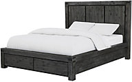 Modus Furniture Meadow Graphite Queen Storage Bed