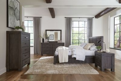 Modus Furniture Meadow Graphite King Bedroom Set