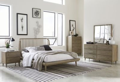 Modus Furniture Spindle King Bedroom Set