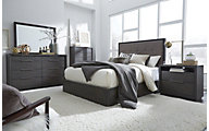 Modus Furniture Oxford King Bedroom Set