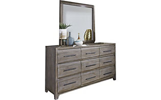 Modus Furniture Hearst Dresser with Mirror