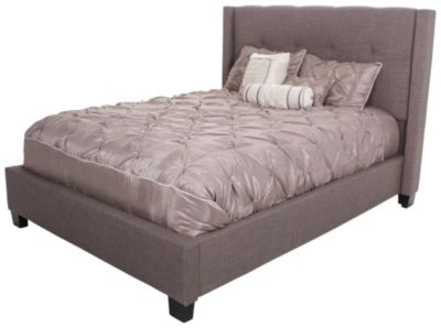 modus furniture geneva madeleine king upholstered bed