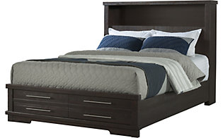 Martin Svensson Home Waterfront Espresso Queen Storage Bed