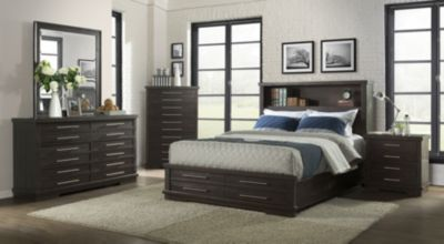 Martin Svensson Home Waterfront Espresso Queen Bedroom Set