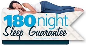 180 Night Sleep Guarantee