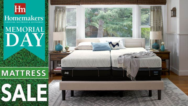 Homemakers mattress sale