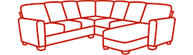 Mid-sized Sectional