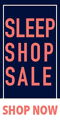 Sleep Shop Sale