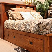 Mission Art & Craft Storage Bed