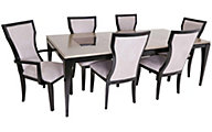 Najarian Nicole Table, 4 Side & 2 Arm Chairs
