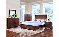 New Classic Spring Creek 4-Piece King Storage Bedroom Set