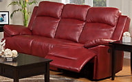 New Classic Cortez Red Reclining Sofa