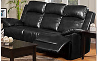 New Classic Cortez Power Rec Sofa-Black