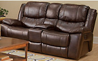 New Classic Kenwood Power Reclining Loveseat with Console