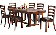 New Classic Lanesboro 7-Piece Dining Set