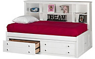 New Classic Bayfront Twin Lounge Storage Bed