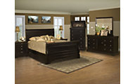 New Classic Belle Rose 4-Piece King Bedroom Set