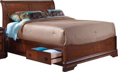 New Classic Sheridan California King Sleigh Storage Bed