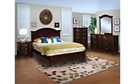 New Classic Victoria 4-Piece King Bedroom Set