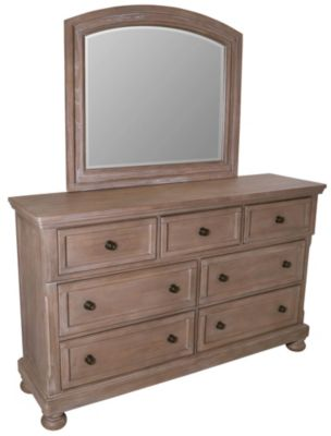 New Classic Allegra Dresser with Mirror