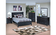 New Classic Tamarack Black 4-Piece King Bedroom Set