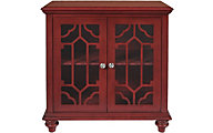 New Classic Enzo Red Storage Cabinet