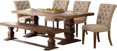 New Classic Normandy 6-Piece Dining Set