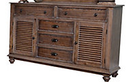 New Classic Lakeport Pewter Dresser