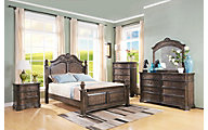 New Classic Larissa 4-Piece King Bedroom Set