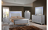 New Classic Valentino 4-Piece Queen Bedroom Set