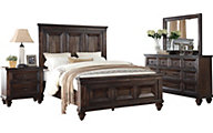 New Classic Sevilla 4-Piece Queen Bedroom Set