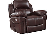 New Classic Warner Power Glider Recliner w/Power Headrest