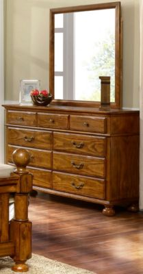 New Classic Cumberland Dresser with Mirror